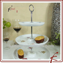 3 ties Ceramic Cake holder
