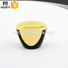 ABS black and gold perfume bottle lid