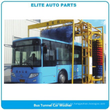 Lavadora de autos con túnel de autobuses