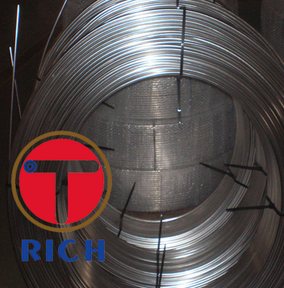 ASTM A249/A269 Stainless Steel Coil Tube for Heat Exchanger and Condensers