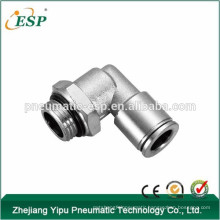 ESP pneumatic push in metal fittings china copper fittings
