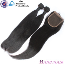 No Shedding Tangle Free Natural Color Virgin Indian Hair Closure