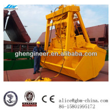 12CBM Wireless remote control single rope grab for handing bulk material