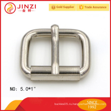 Превосходная стильная никелированная металлическая пряжка