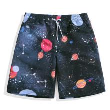 Los pantalones cortos impresos al por mayor de los hombres bañan los cortocircuitos de la playa del verano
