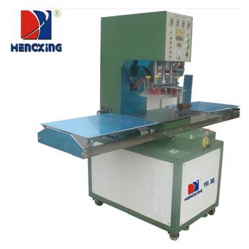 Machine de soudure en plastique à haute fréquence de table de glissière de 8KW