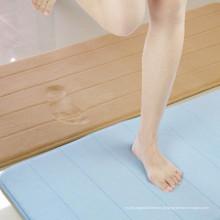 tapetes de banho de seda modernos e tapetes com fundo de borracha