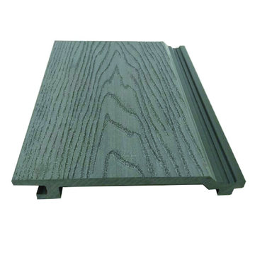 Windproof Outdoor Wood and Plastic Composite WPC Wall Panel