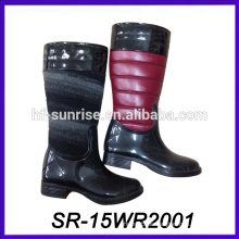 PU Muster Regen Stiefel Luxus Regen Stiefel