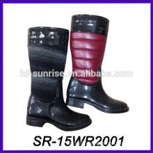 pu pattern rain boot luxury rain boot