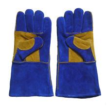 Cowhide Split Leather Industrial Safety Welding Work Gloves