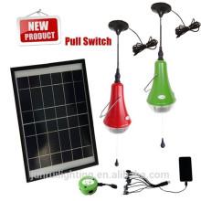 Luz casera solar portable, las luces interiores de solares, iluminación de decoración del hogar