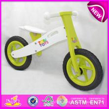 Stock! ! ! ! 2014 jouet en bois de bicyclette pour enfants, stock jouet en bois de vélo pour enfants, ensemble en bois de bicyclette d'équilibre pour l'usine de bébé W16c089