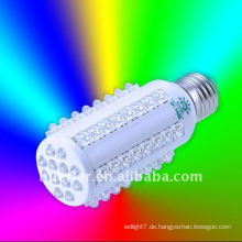 6w führte Maiskolben, 60 LED, Shenzhen energiesparende E27 Led Mais Licht