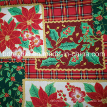 Polyester Printed 300d*300d Mini Matt Fabric Used for Table Cloth and Garment