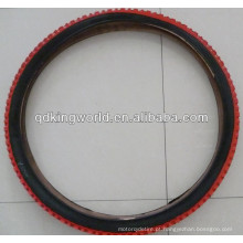 pneu de borracha coloridas bicicleta 16 * 2.125