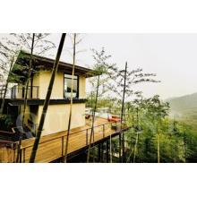 Edifício Turístico Verde e Pré-fabricado