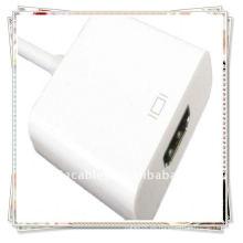Nuevo cable de la conexión de HDMI HDTV para el iphone 4 del tacto 4 de iPod del iPad