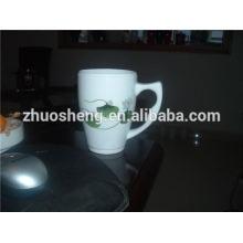 heiße verkaufende Produkt Edelstahl Werbe Keramik-Becher, Keramik Kaffeetasse