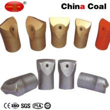 Brocas de cincel de carburo de tungsteno de bajo precio para herramientas de perforación de roca