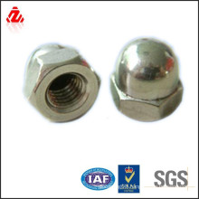 carbon steel zinc plated dome nut