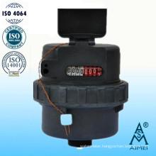 Volumetric Rotary Piston Type Plastic Body Water Meter