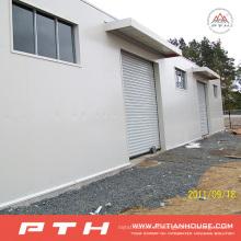 Taller de estructura de acero prefabricado galvanizado de bajo costo