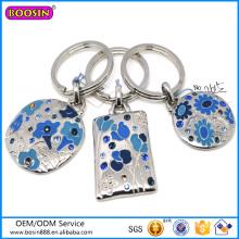 2015 heißer Verkauf chinesischer Charme Keychain einzigartige Emaille Keychain # 12615