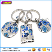 2015 Hot Selling Chinese Charm Keychain Unique Enamel Keychain #12615