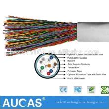 Cable de teléfono de alta calidad RJ11 Cable de teléfono de Multipair Cable de teléfono interior Cat3