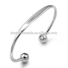 Energie-Goldarmband-Edelstahl-Stulpe-Armbänder für Frauen