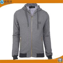 OEM Men Sports Hoody Cotton Zipper Fashion Hoodies