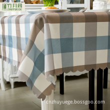 100%Polyester Plain Tablecloth Fabric For Restaurant