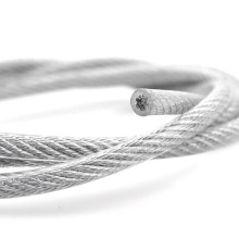PVC coated stainless wire rope 316 1x19 3-5mm