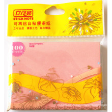 Wholesale Price High Quality 3in*4in Sticky Notes China Supplier Used in Office &School