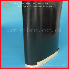 Manga termorretráctil negra para protección contra la corrosión
