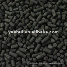 4,0 mm Carvão ativado impregnado com álcali a base de carvão
