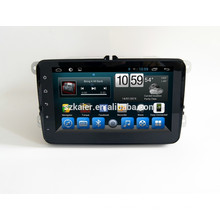 Carro dvd para tela de toque completo com sistema android para VW universal + dual core +8 de polegada + fábrica Diretamente