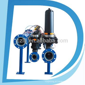 Filtro agrícola do disco do gotejamento do alojamento da irrigação PA6 da água de limpeza do auto do baixo custo da primeira classe