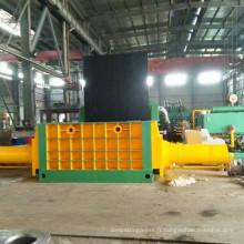 Presse hydraulique de mise en balles d'acier industriel de ferraille