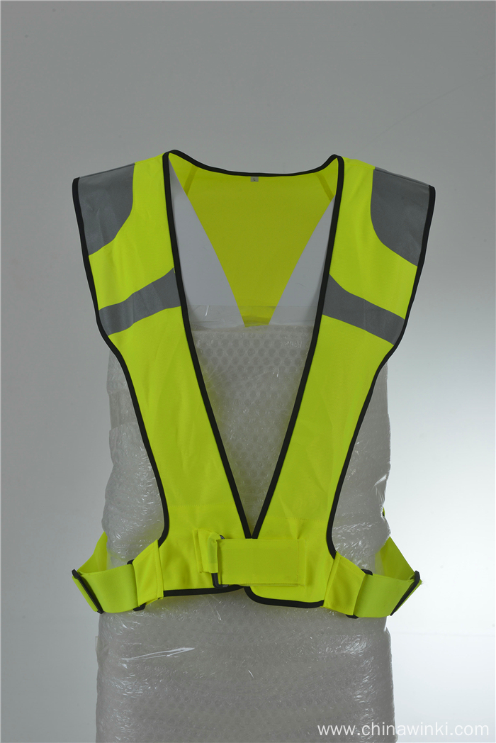 Safety Vest for Running or Cycling with Reflective Bands