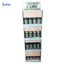Pop up cardboard energy drink display rack cardboard paper display racks for supermarket