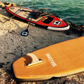 Inflable surf sup stand up paddle board para corredor