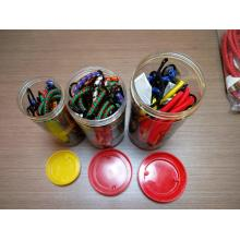 Easy-Use 25pcs Packing Bungee Elastic Cord Jar