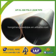 API 5L-X60 PSL2 LSAW ROHR