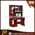 Classical computer desk with shelf