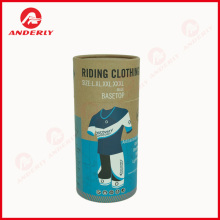Customized Packaging Paper Canister Clothes Kraft Tube