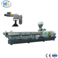 Hydraulic Screen Changer Plastic Twin screw Extruder Price