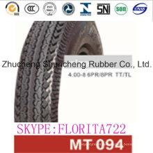 Todos tamaño motos neumático piezas de la motocicleta (4.00-8)