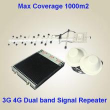 OEM 3G 4G двухдиапазонный мобильный усилитель сигнала с совершенно новыми материалами